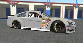 SCSR rFactor2 Paint Templates | StockCar Sim Racing